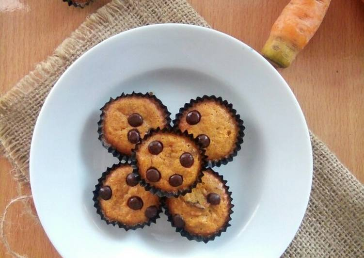 Resep Carrot Raisin Mini Muffins