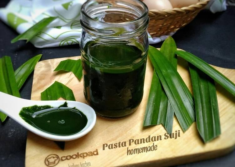 Resep Pasta Pandan Suji Homemade
