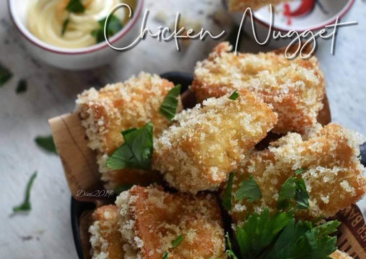 Resep Nugget Ayam Flourless