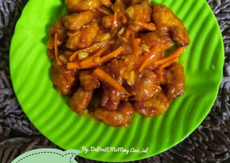 Resep Ayam Goreng Tepung Saos Pedas Manis