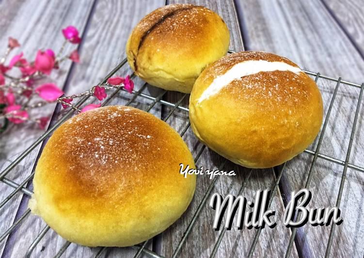 Resep Milk bun
