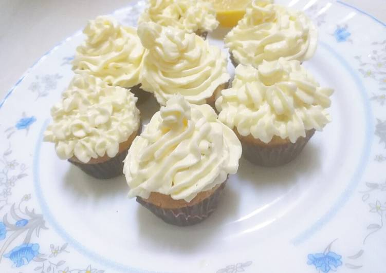 Resep Lemon Cup Cake Creamy