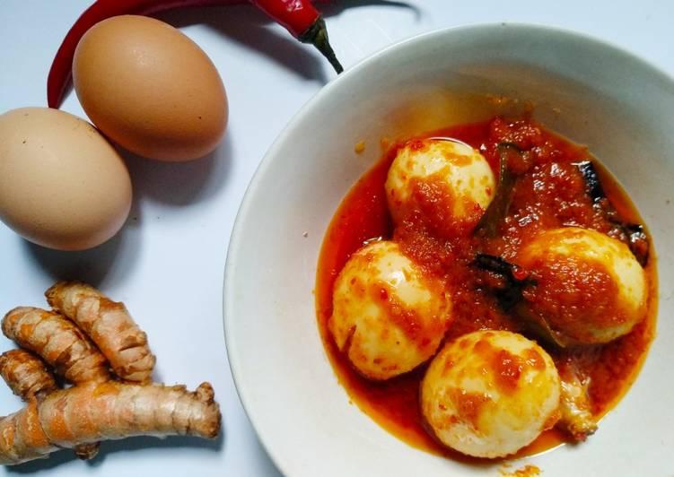 Resep Balado telur