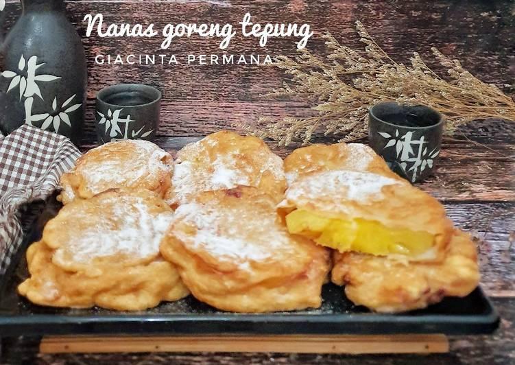 Resep Nanas goreng wangi kayu manis
