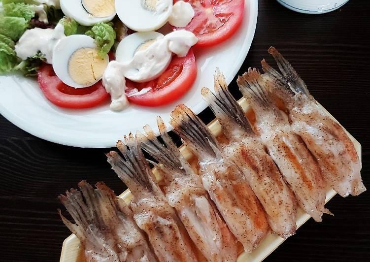 Resep Sirip Ikan Salmon Panggang