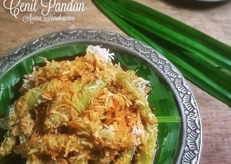 Resep Cenil Pandan