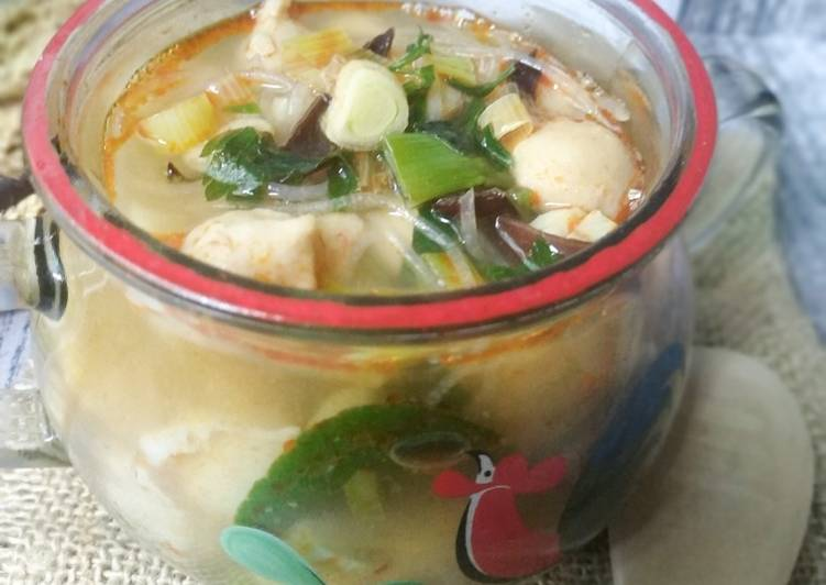 Resep Tomyum Soup