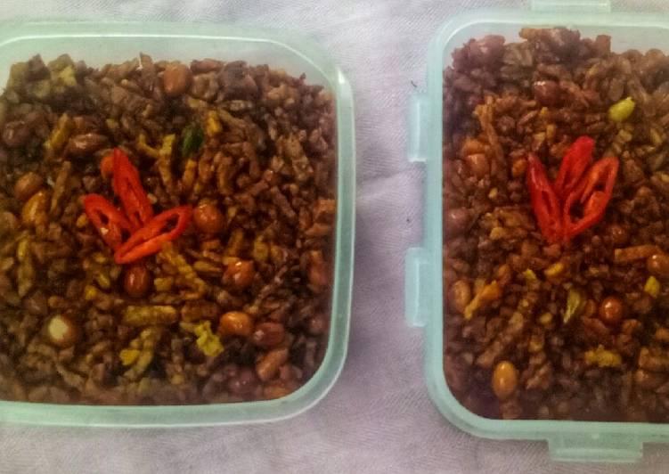 Resep Kering tempe kacang