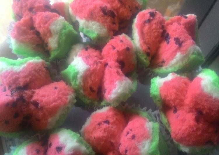 Resep Bolkus semangka tanpa soda