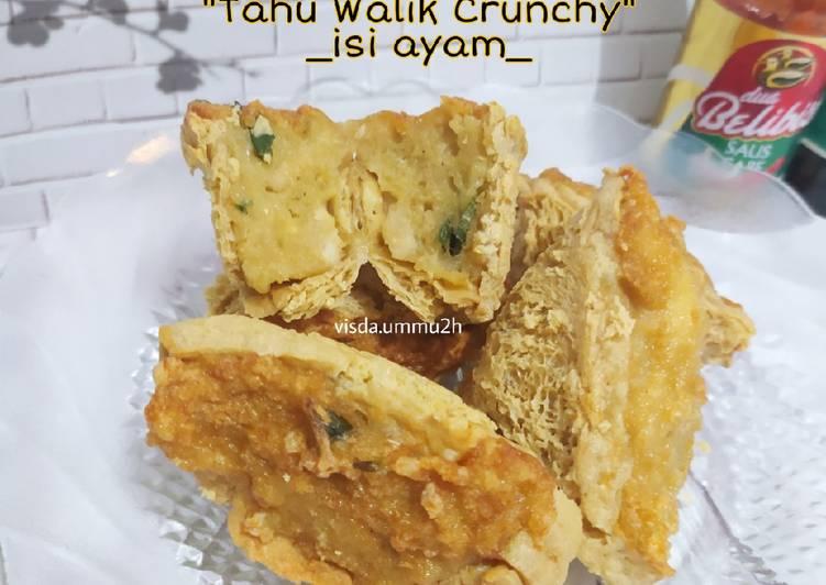 Resep Tahu Walik Crunchy Isi Ayam