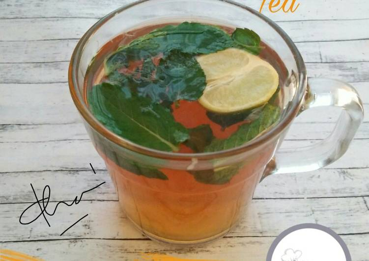 Resep Lemon Mint Tea