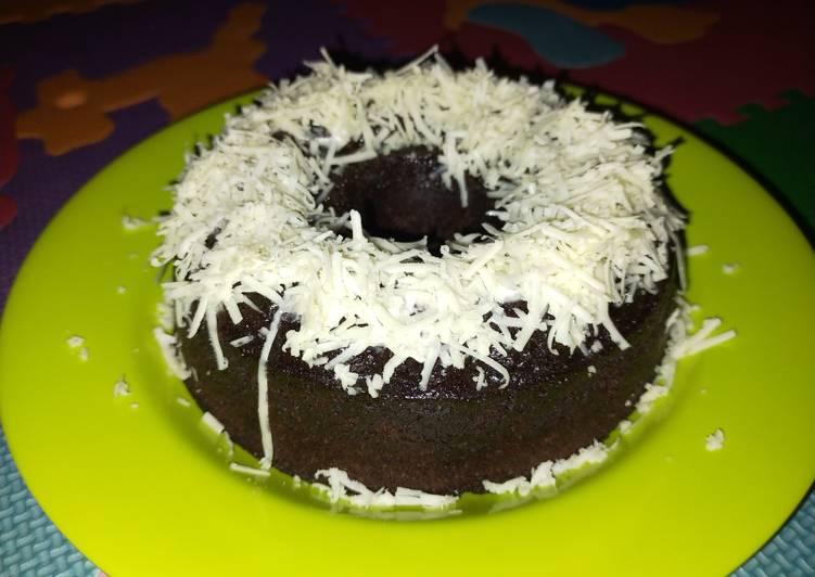 Resep Brownis kukus chocolatos