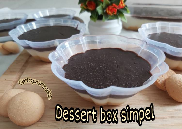 Resep 095Dessert Box Simpel