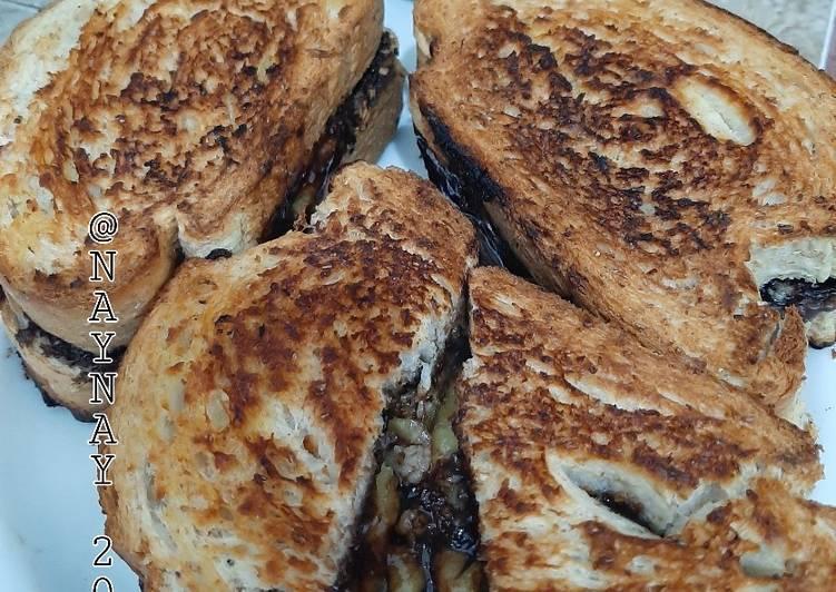 Resep Roti Gandum Bakar Isi Pisang Coklat Keju