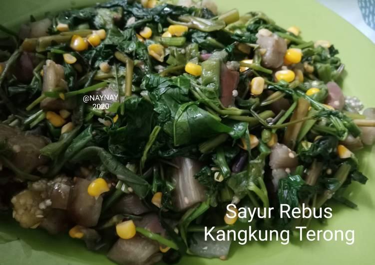 Resep Sayur Rebus Kangkung Terong