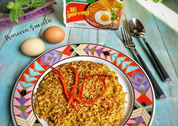 Resep 1Omlette Indomie