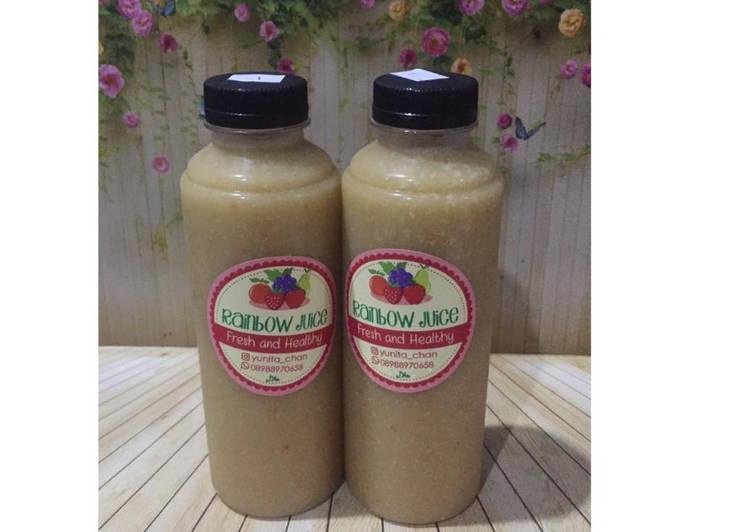 Resep Diet Juice Tomato Avocado Pineapple Sunflower Seeds