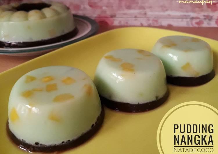 Resep Pudding Nangka Nata de Coco