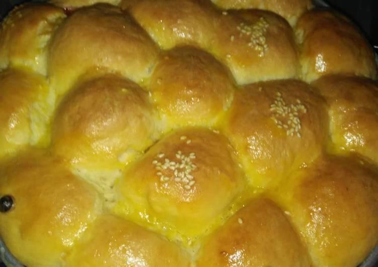Resep Roti sobek lembut anti gagal