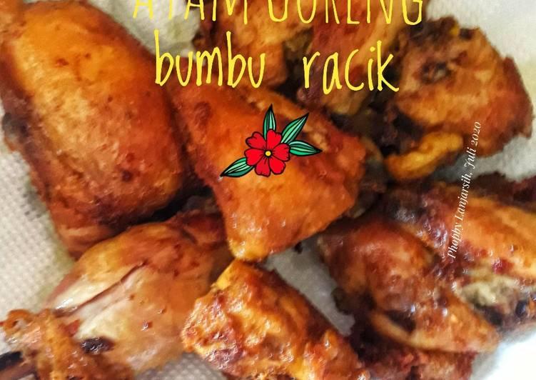 Resep Ayam Goreng Bumbu Racik
