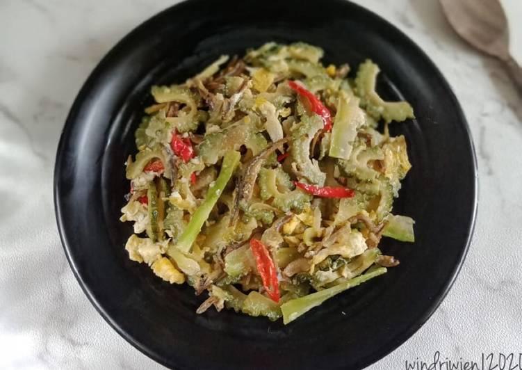 Resep Tumis Pare Telur & Batang Brokoli