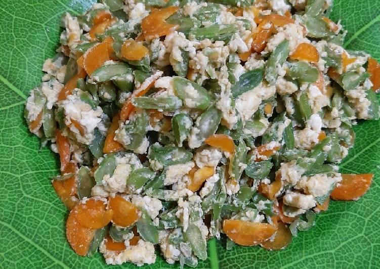 Resep Orak arik buncis wortel