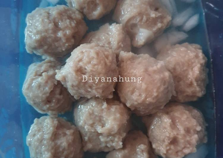 Resep Bakso/Pentol Daging Sapi