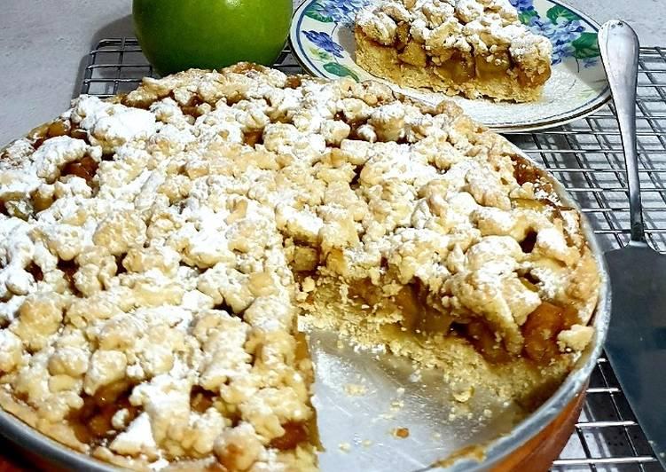 Resep Apple Crumble Pie