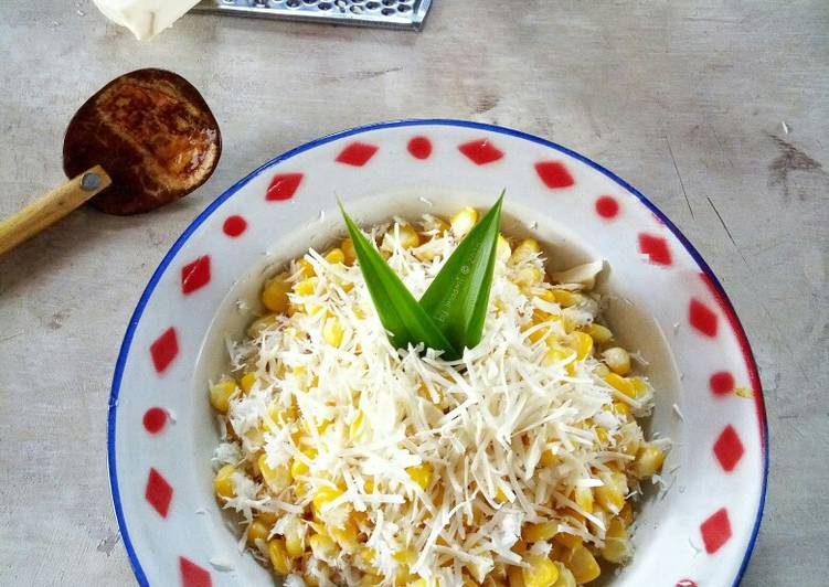 Resep Grontol Jagung Keju
