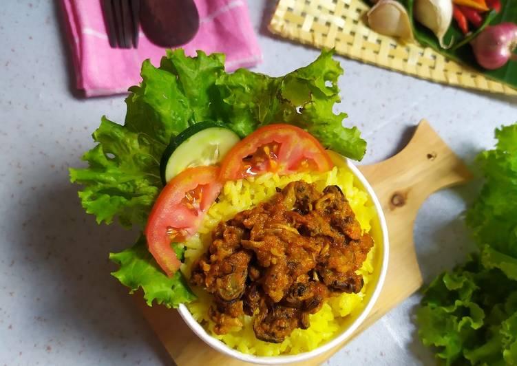 Resep Kerang Rice Bowl ala Angkringan