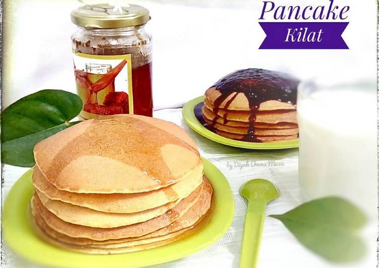 Resep Pancake Kilat & Yummy 5 Menit [Sarapan Hari ke 4]