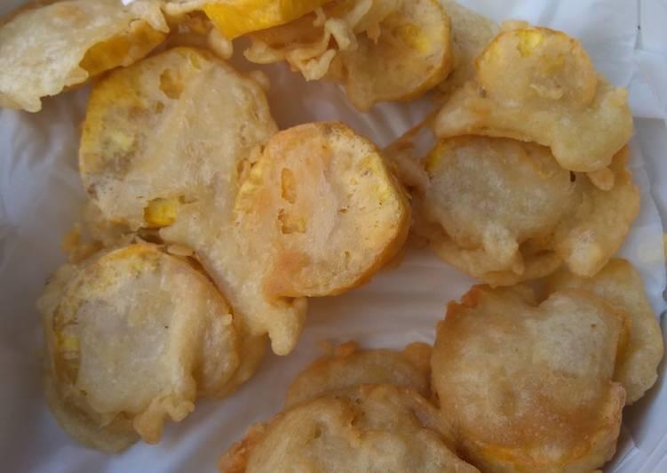 Resep Ubi kuning goreng