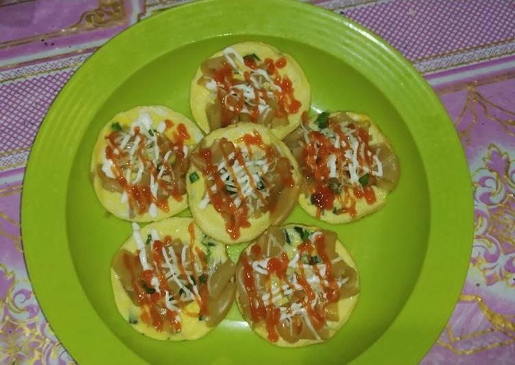 Resep Maklor (makaroni telur)