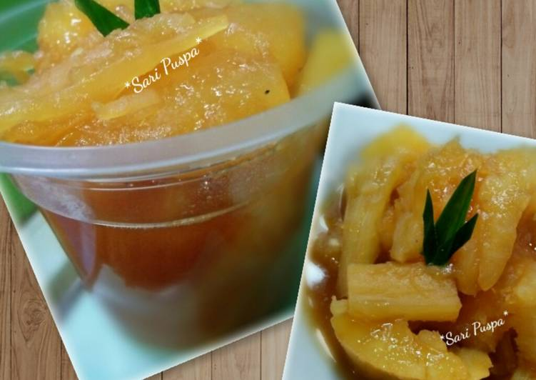 Resep Singkong karamel