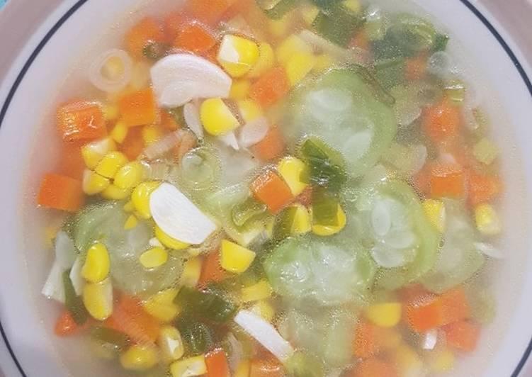 Resep Sayur Bening Oyong (untuk anak 2+)