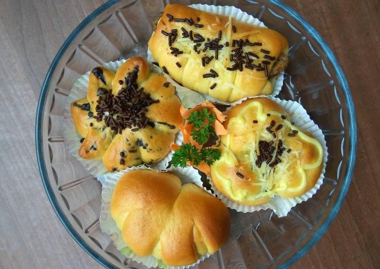 Resep Roti Manis Labu Kuning