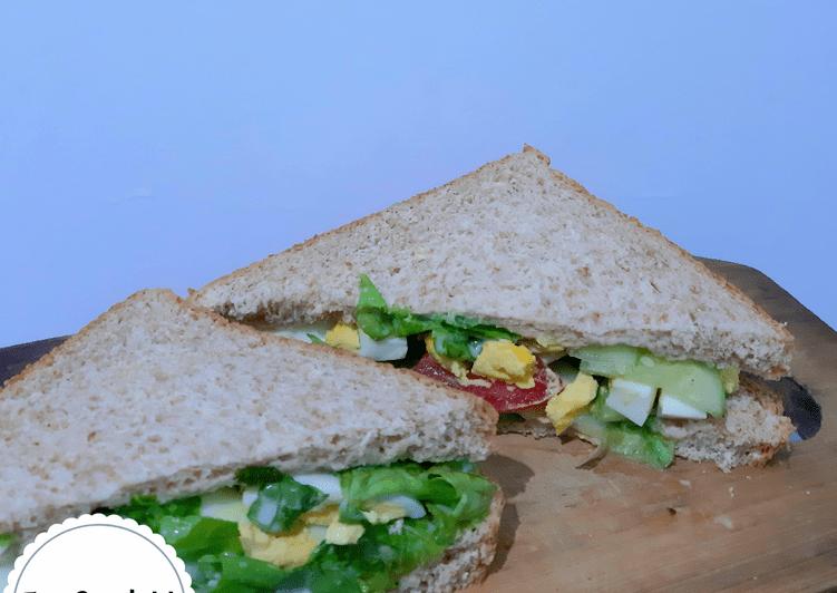 Resep Egg Sandwich
