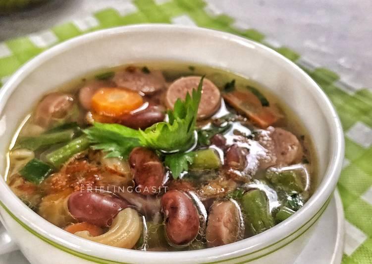 Resep Sup Kacang Merah, Empuk dg Metode 5-30-7-30