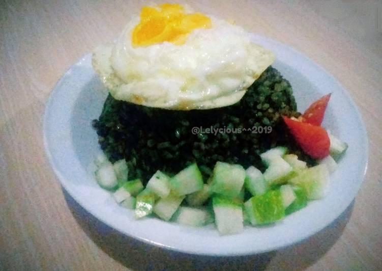 Resep Nasi Goreng Hijau Bayam