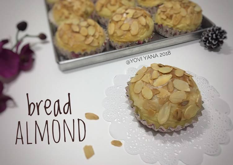 Resep Bread almond