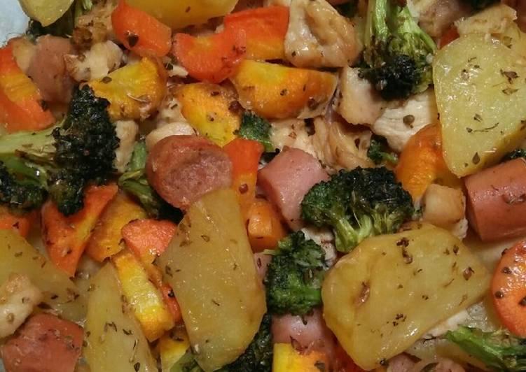 Resep Roasted Vegetables
