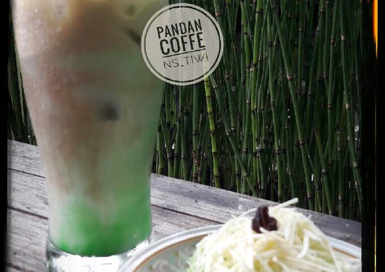Resep Pandan Coffe
