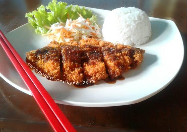 Resep Chicken Katsu Saus Teriyaki