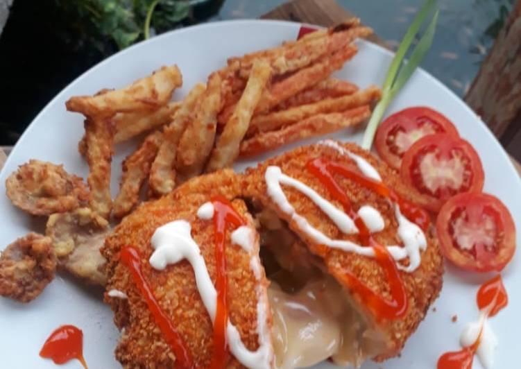 Resep Chicken Cordon Blue Suka-Suka