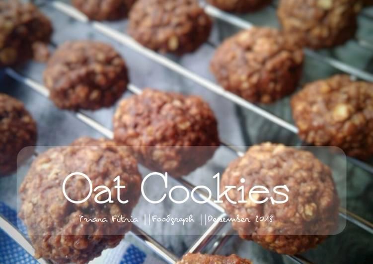 Resep Oat Cookies