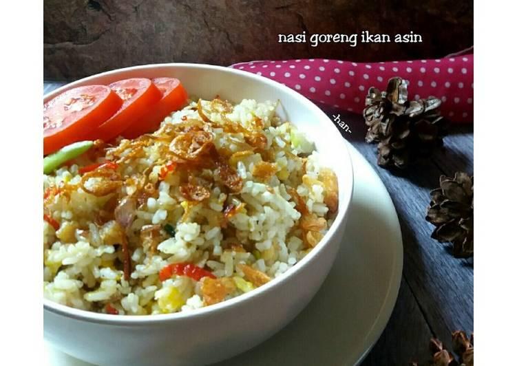 Resep Nasi Goreng Ikan Asin a la WAPO