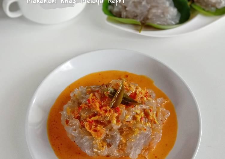 Resep Lakse Kuah Kari Ikan Khas Melayu Kepri