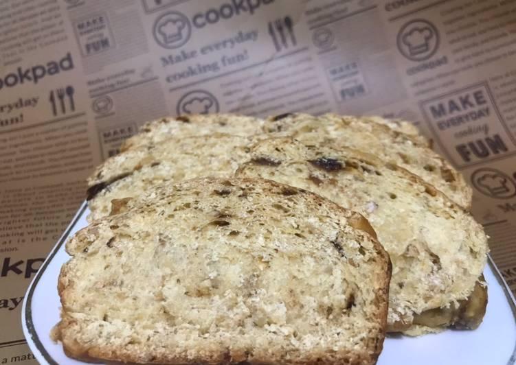 Resep Oat bread with raisins