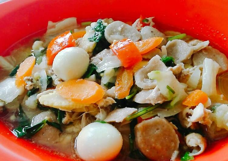 Resep Cap Cay Kuah Special