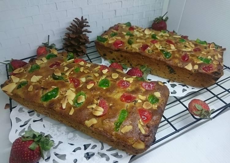Resep 1English fruit cake